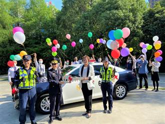 聯聚建設回饋社會!捐贈巡邏車及應勤裝備 助警方維護治安