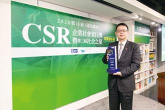 遠見雜誌 CSR企業社會責任獎-信義房屋服務業首獎 三連霸