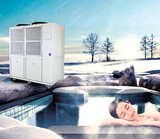 節能又減碳 堡達開發CO2熱泵熱水機