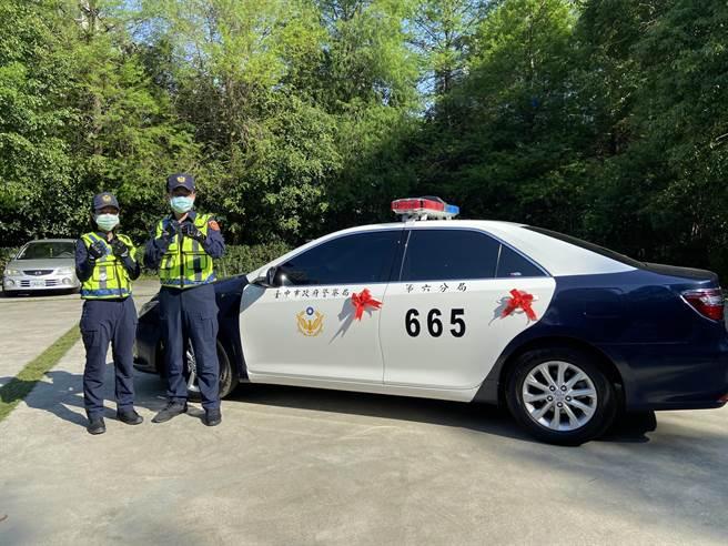 警用巡邏車特點包括以高性能加上先進智聯網配備,提升員警辦案效率、改善執勤用車時的環境,在打擊不法上具有莫大助益。(盧金足攝)