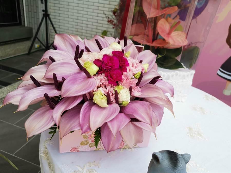 台南市政府5月起將推廣國中、小花藝課程,希望提高國內用花需求(劉秀芬攝)