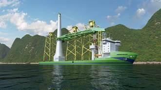 台船造船工作合約 首艘自建大型離岸風電安裝船2023營運