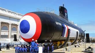 法海軍新銳核子潛艦薩弗隆號 海試開始