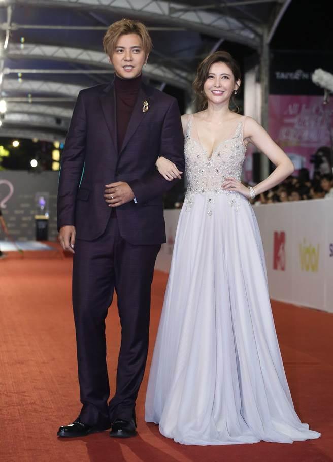 羅志祥與愷樂在2017年風光奪下綜藝節目主持人獎。(圖/本報系資料照片)