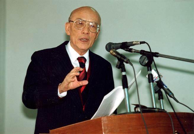 前總政戰部主任王昇。(資料照片,黃子明攝)