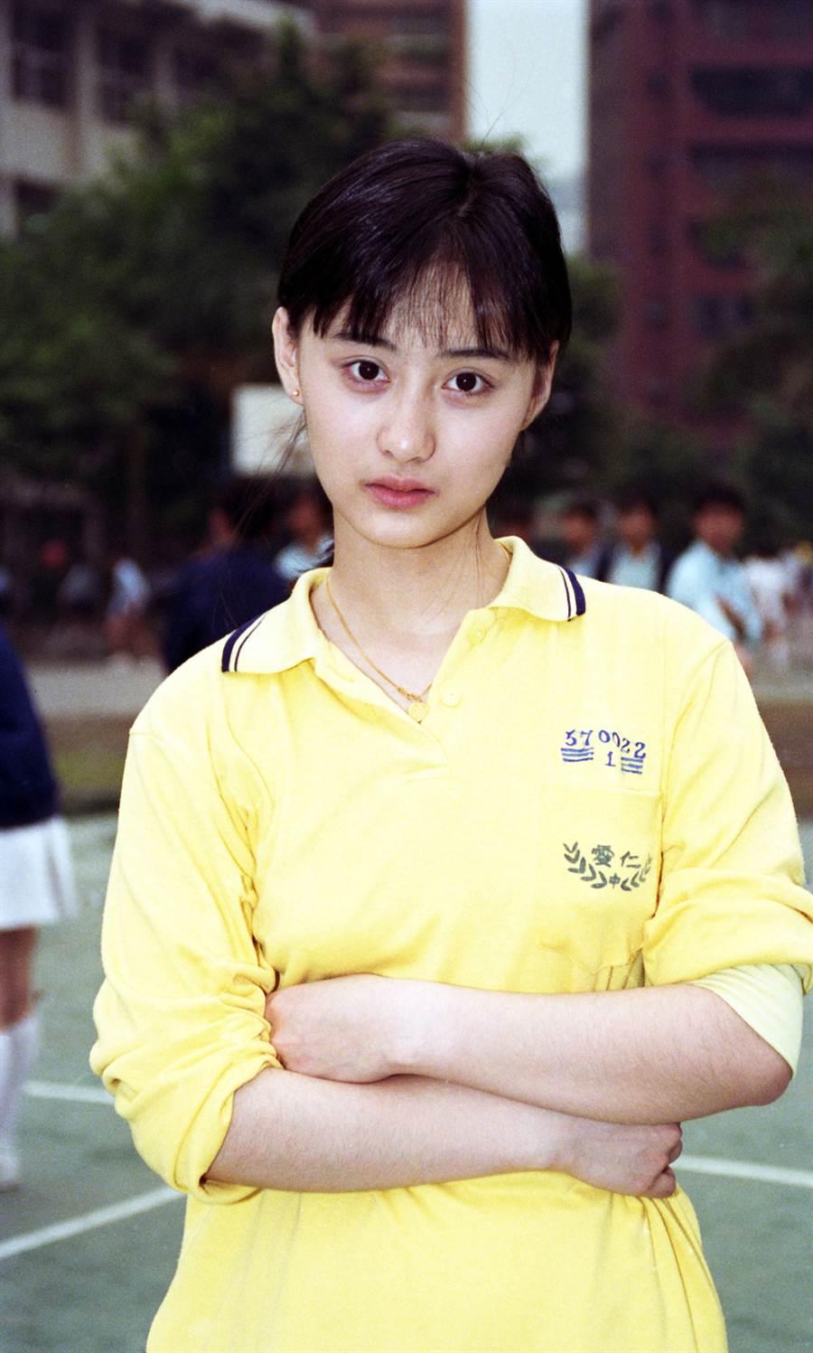 陳德容14歲被瓊瑤相中。(圖/本報系資料照)