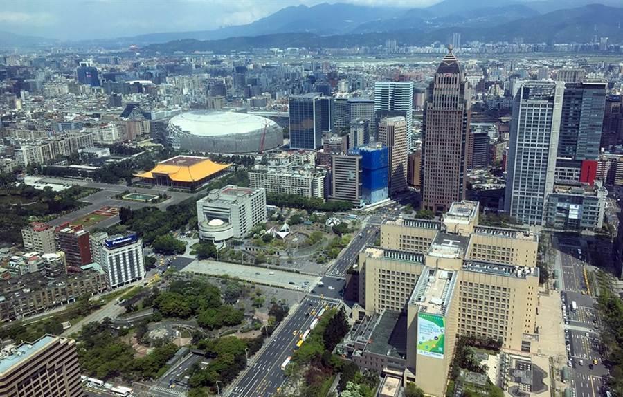 大巨蛋、信義區、台北市政府、遠雄金融中心、國父紀念館、基隆路/富比士地產王提供