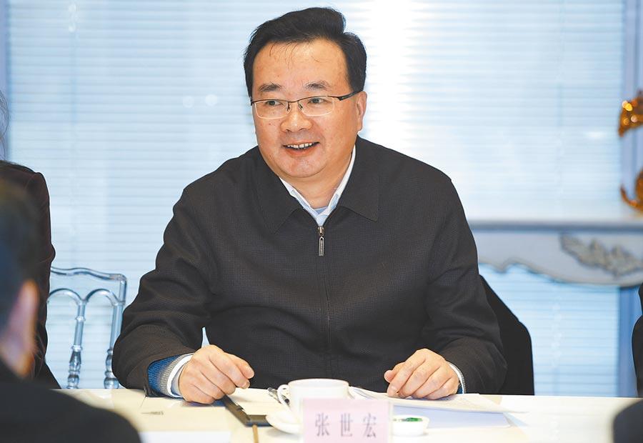 國台辦經濟局長張世宏。(中新社資料照片)