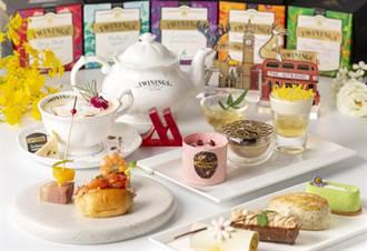 唐寧茶X萬豪酒店聯名下午茶  母親節體驗英式時尚