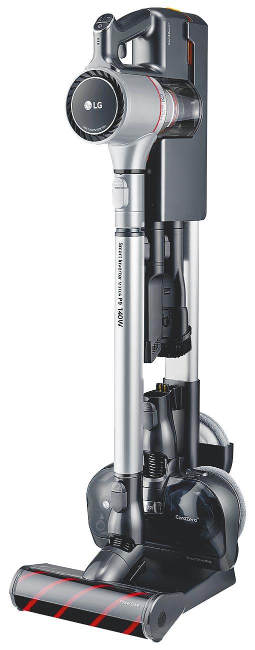LG於6月30日前推出了買指定型號LG CordZero A9+溼拖無線吸塵器、快清式無線吸塵器或 LG CordZero清潔機器人,即可獲得可水洗3效濾網、拋棄式抹布及吸頭組等禮物。(LG提供)