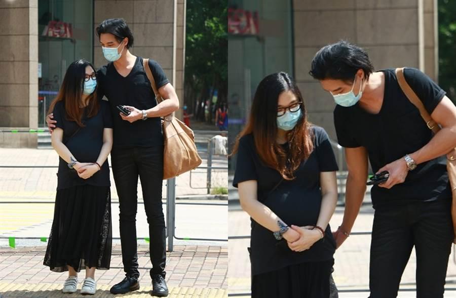 黎振燁最近被拍和孕妻上街。(圖/取自《on.cc東網》)