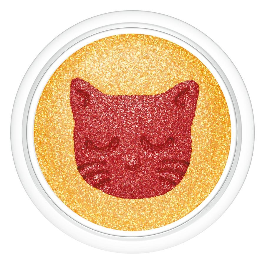 PAUL & JOE打盹貓限量雙色眼影,950元。(PAUL & JOE提供)