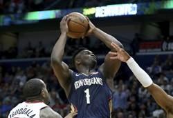 NBA》反地心引力 錫安威廉森超會跳