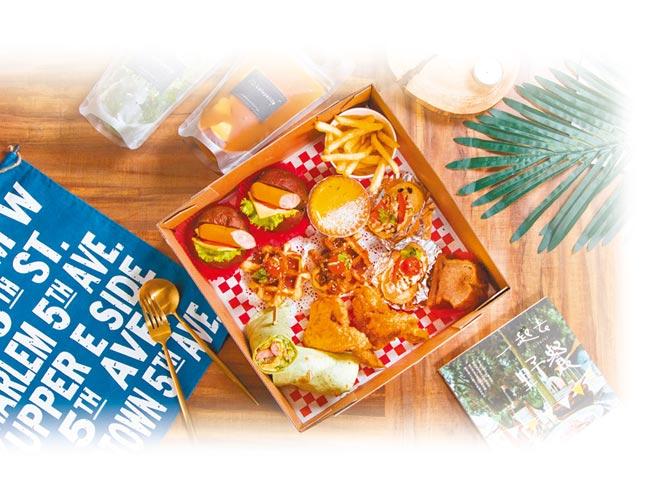 璐露野生活有多種外帶餐盒方案,從單人份到上千人份皆可提供。(璐露野生活)