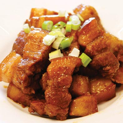 古早味紅燒肉      圖/美國沙朗大師頂級鍋具提供(全台無毒的家販售)