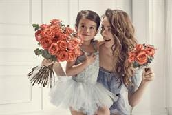瑞莎女兒是「小花吃」!母親節送花給媽媽卻瞬間消失