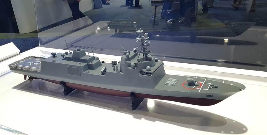 義大利芬肯特里的構型,將是美國海軍的下一代巡防艦FFG-X。(圖/Fincantieri)