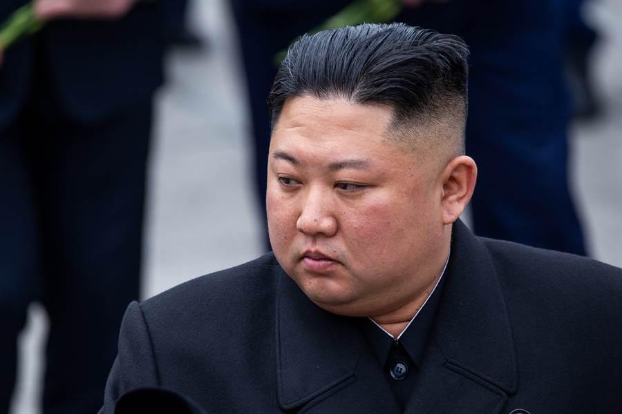 北韓領導人金正恩。(達志影像)