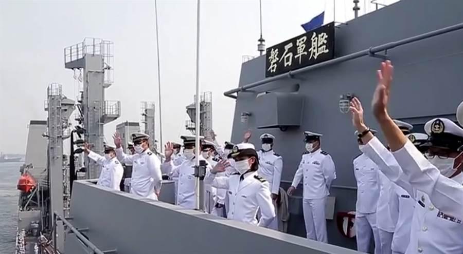 敦睦艦隊血清抗體結果出爐,還有8名官兵曾感染過。(軍聞社)