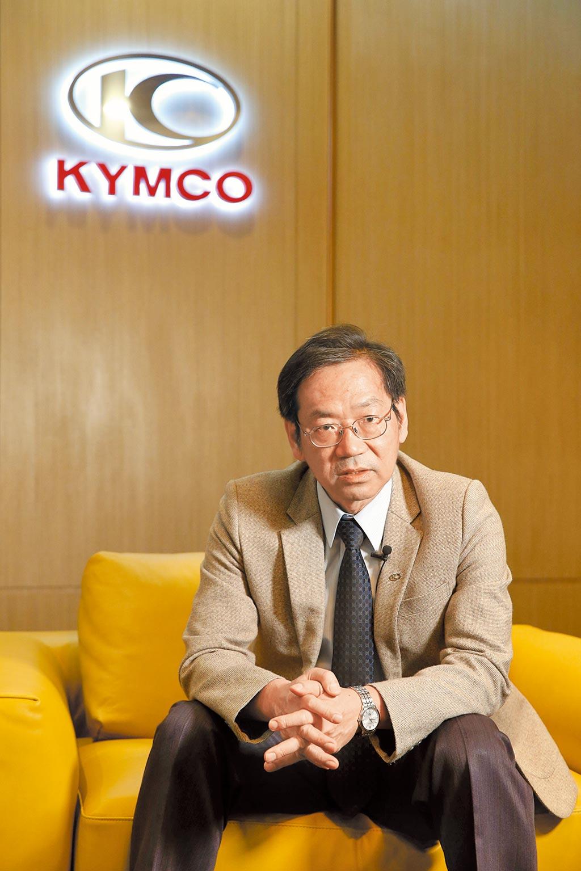 車輛公會機車製造委員會主委柯俊斌認為,電動車雖是趨勢,但台灣目前還是以符合環保標準的燃油機車最實用。(王英豪攝)