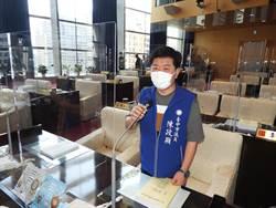 台中市議會加裝隔板  議員促防疫兼顧議事運作