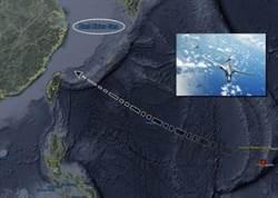 美軍2架B1B轟炸機 航行台灣北部東海海域