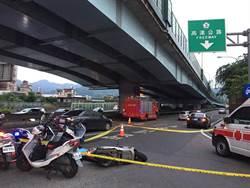 新北市消防車撞傷騎士 傷者送醫不治