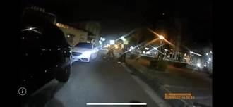 蘆洲男攜槍枝要給對方教訓 高調駕名車集合公園秒被捕