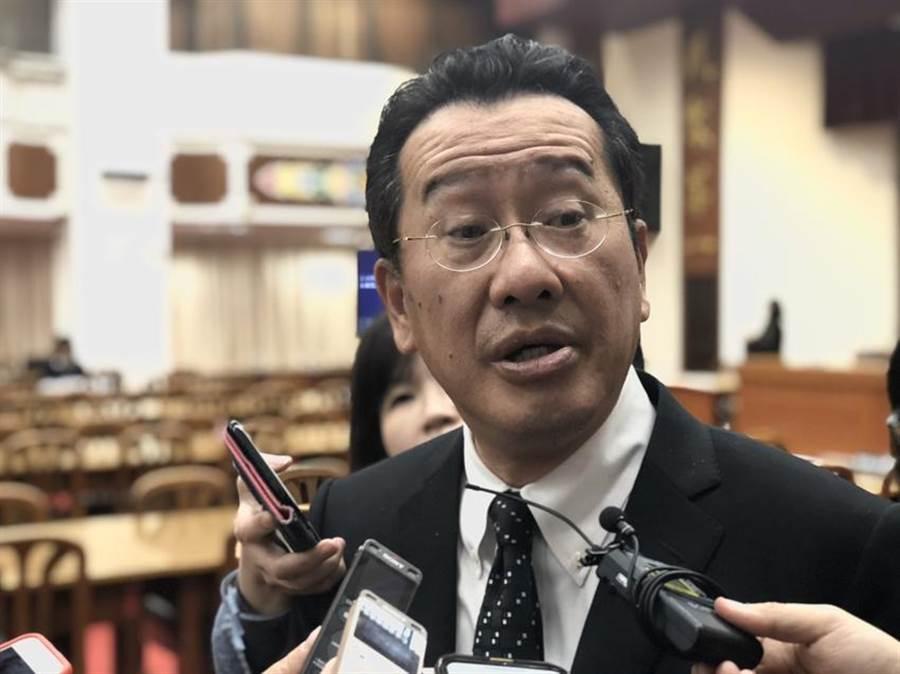 (金管會主委顧立雄表示,南山人壽董事長杜英宗不是自己辭職。圖/資料照片)