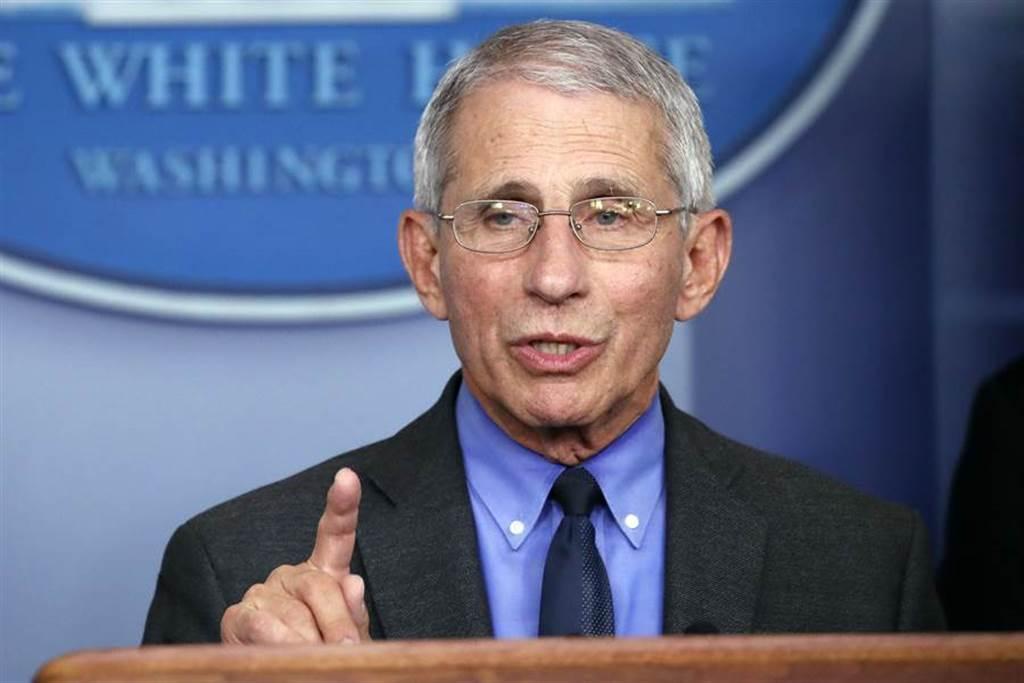 美國「抗疫隊長」、國家過敏症和傳染病研究所所長佛奇(Anthony Fauci)。(美聯社)