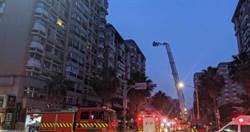 民生社區國宅凌晨火警住戶驚逃 1員警遭砸傷送醫