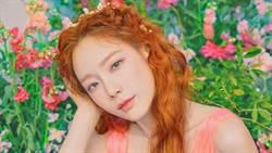 太妍新單曲《HAPPY》側拍流出!深V粉色洋裝美成仙