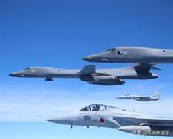 美2架B1B轟炸機飛臺灣東北海域 日本3戰機護航