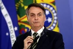 影》新冠死亡數暴衝 巴西總統一句話 CNN名主播驚呆了