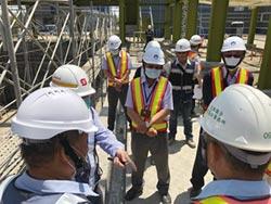 打造海洋科技產業重鎮 金屬中心林仁益 視察三中心工程