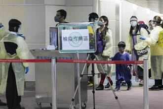 印度撤僑包機抵台 接回129名國人回家 9人身體不適採檢
