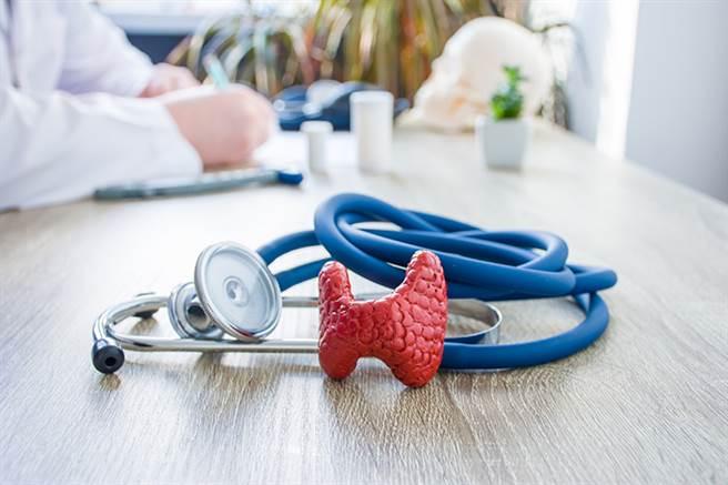 甲狀腺機能亢進、甲狀腺機能低下、甲狀腺腫大等甲狀腺疾病,女性的發生機率比男性還要多得多。(達志影像/shutterstock)