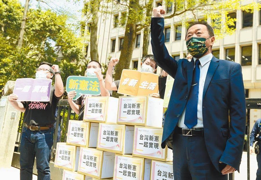 獨派:一中框架常讓國際陷入中國代表權糾葛。本報資料照