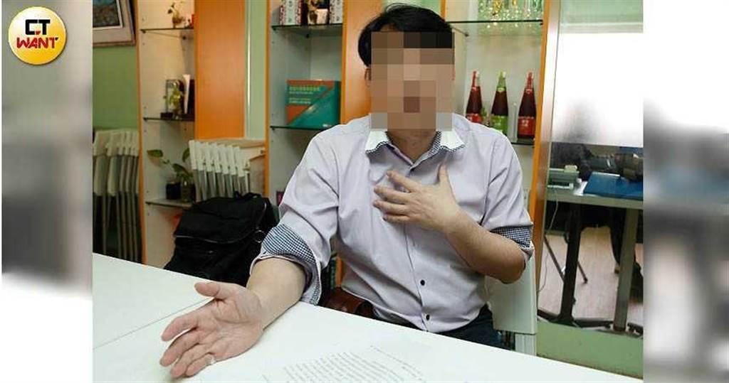 曾與劉乂鳴合夥開診所的林董透露,營養品1個月成本大概4000,但劉乂鳴卻賣價高達的2萬多元。(圖/黃耀徵攝)