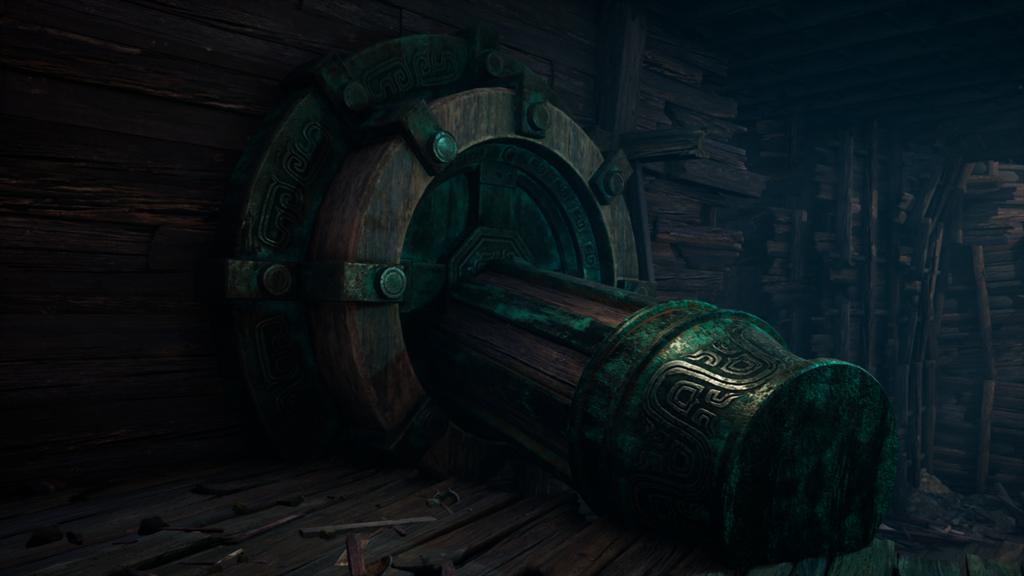 墨家機關術也在《軒轅劍柒》遊戲中亮相(圖/大宇資訊 提供)