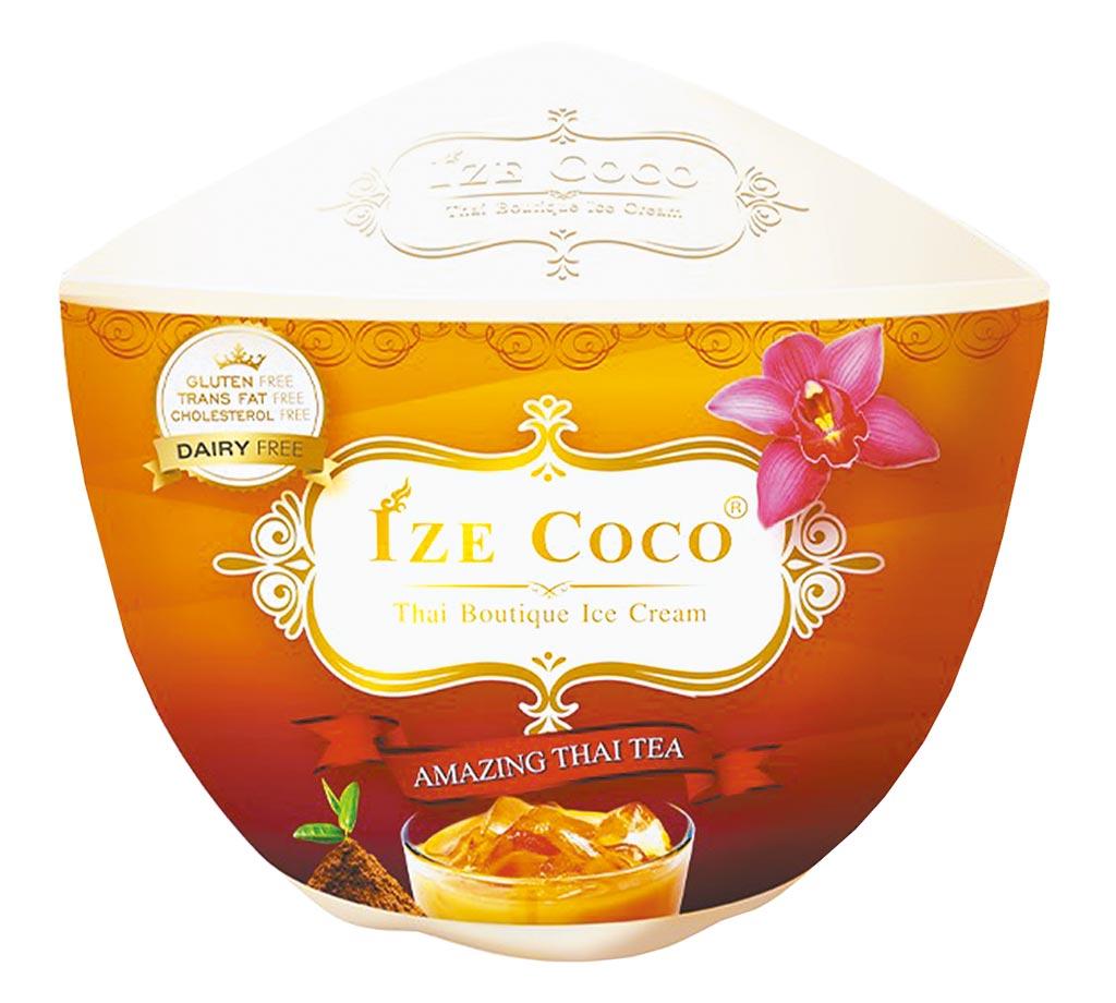 7-11泰國Ize Coco經典泰奶冰淇淋,嘗鮮價89元。(7-11提供)