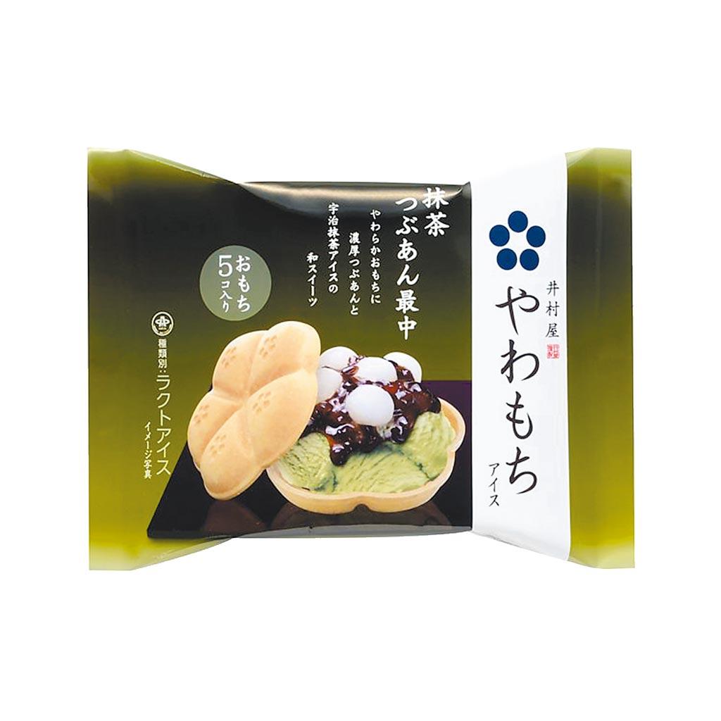 OK超商井村屋抹茶紅豆麻糬摩納餅,59元。(OK提供)