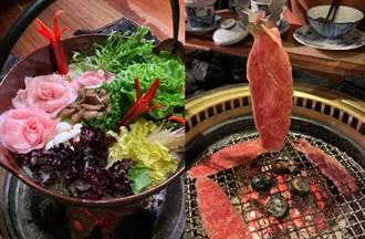 信義最強無菜單私宅和牛鍋物!浮誇「松阪豬玫瑰」超欠吃
