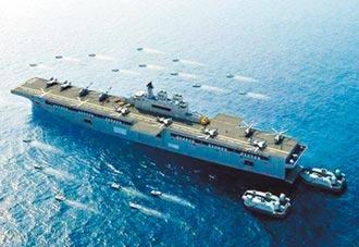 美中海軍戰力拔河 衝艦艇數壓陣
