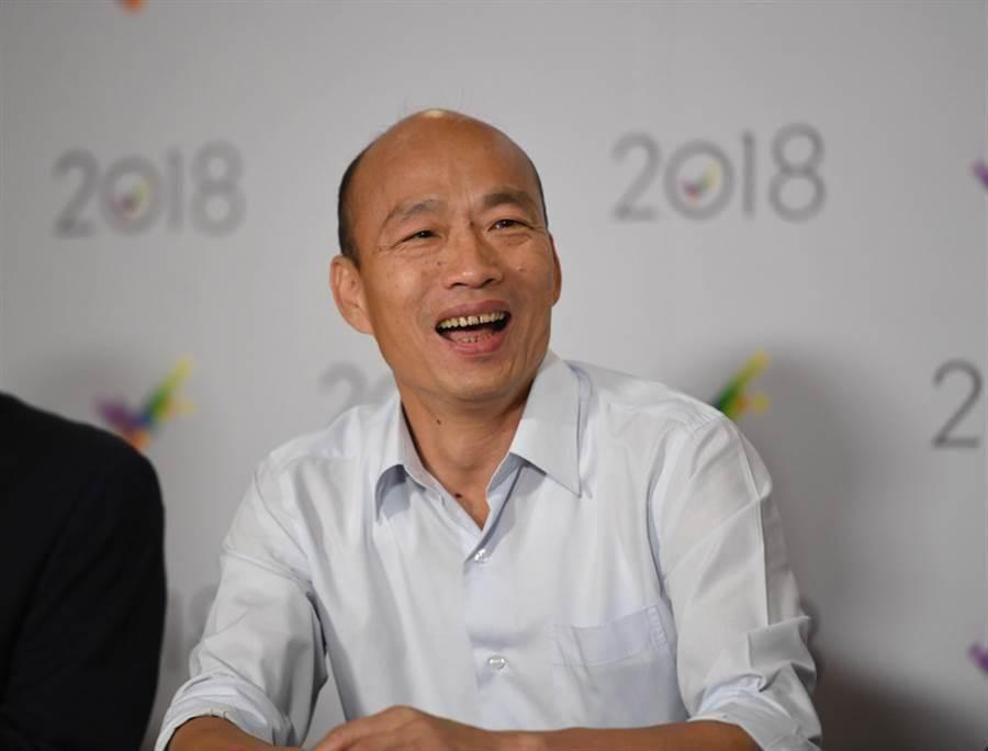 高雄市長韓國瑜面臨罷免案。(圖/本報資料照)