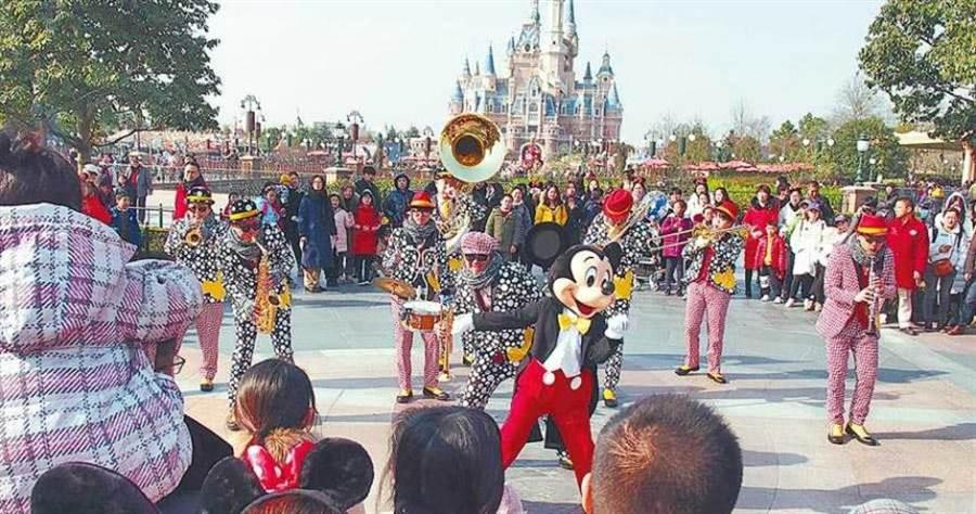 上海迪士尼。