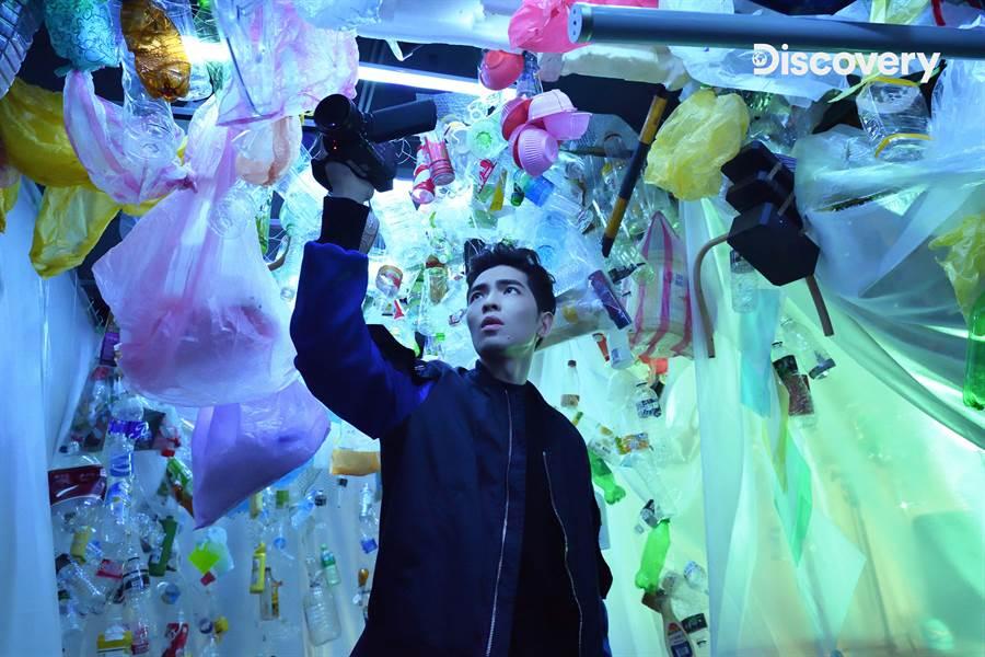 海洋大使蕭敬騰公益短片5月6日起於Discovery頻道、TLC旅遊生活頻道、動物星球頻道強力放送。(Discovery提供)