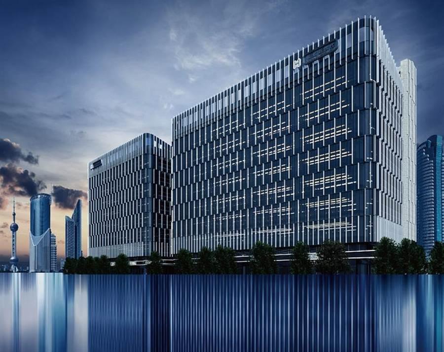 (長虹建設位於內湖的「長虹新世代科技大樓」,A棟被萬海航運以22.2888億元買下。圖/取自於該大樓營造公司宏林營造官網)