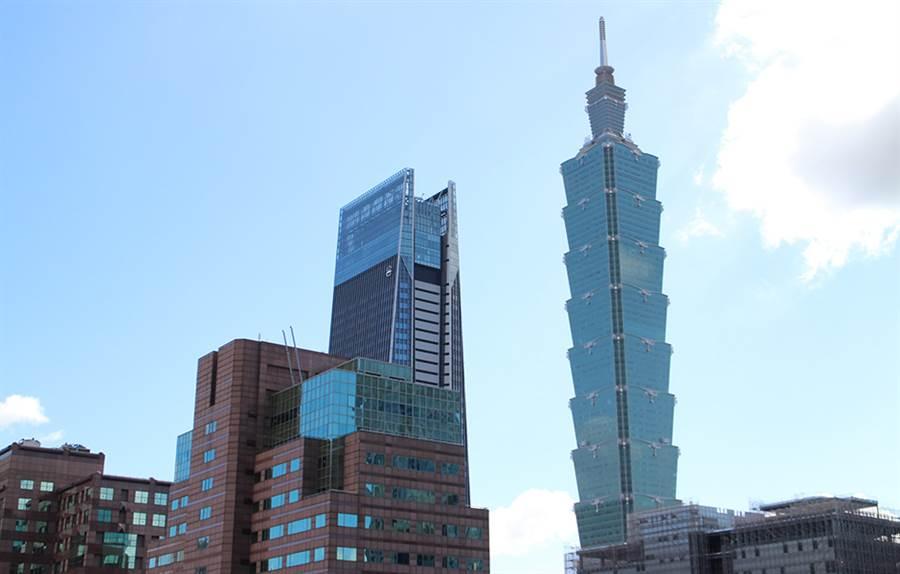 台北市今年第一筆實價租金4千元案例出現在地標101大樓。(圖/業者提供)
