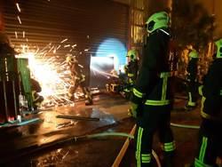 宜蘭三星鄉資源回收廠大火 無人員傷亡